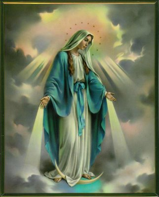 The Virgin Mary Mediatrix of All Graces