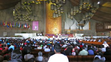 Holy Mass in Basilica of Our Lady of Guadalupe