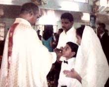 SON'S 1ST HOLLY COMMUNION