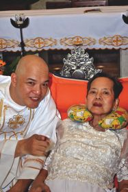 Vocation Story Father Willie with Mother