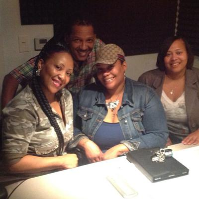 My agent, Tracie Williams (first lady from the left)