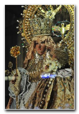 the official image of our lady of covadonga in Parish of St Joseph,La Trinidad,Benguet.declared as a patroness of The Mountainous Provinces of Northern Luzon to Extreme Northern Luzon
