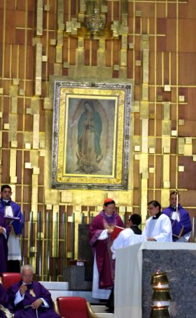 Guadalupe Pilgrimage Encounter with Tilma